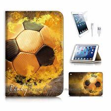 iPad Mini Gen 4 Flip Wallet Case Cover P2376 Soccer Football