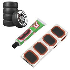 48pcs Bike Tire Bicycle Kit Patches Repair Glue Tyre Tube Rubber Puncture BH