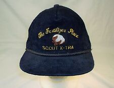 The Fertilizer Place Scout X-Tra Blue Corduroy Trucker HAT Cap