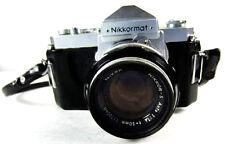 Rare Glass!  50mm NIKON  1.4  Ai Lens w (almost ) FREE Nikkormat 35mm Camera