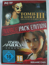 Tomb Raider III & IV Legend - Lara Croft Double Pack Sammlung - Action Kult