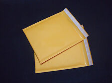 10X 160*220+40mm Kraft Bubble Bag Padded Envelopes Mailers Shipping Yellow CNCA