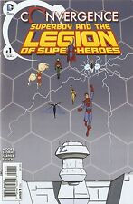 Convergence Superboy & the Legion '15 1 Guerra Cover NM S3