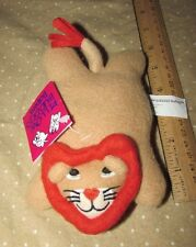 "Crown Craft Pillow Buddies Babies Plush Lion Rorie Bean Bag Mini 6"" baby"