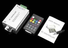 12A Aluminum Music Sound Controller+18 Key RF Remote for RGB LED Strip Light
