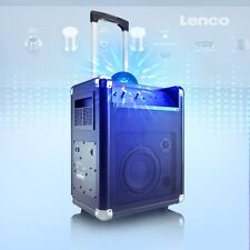 Mobile Event Sound Anlage Farbwechsel Karaoke System USB Bluetooth Lenco PA-325