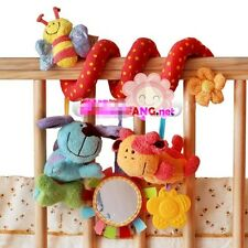 Hot Cute Baby's Gift Spiral/Twisty/Curly Pram Bar/Car Seat/Cot Activity Toys - T