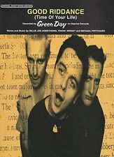 Green Day Good Riddance (Time Of Your Life)  US Sheet Music