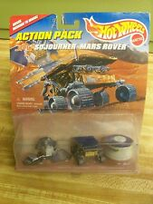 MATTEL HOT WHEELS ACTION PACK JPL SOJOURNER MARS ROVER