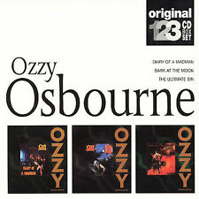 CD-Ozzy Osbourne-Diary Of A Madman/Bark At The Moon/Ultimate Sin Dec-200...