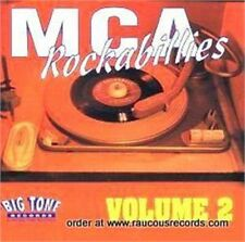 MCA ROCKABILLIES Volume 2 (2CD Double CD 50s Rockabilly Rock 'n' Roll NEW