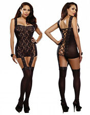 Plus Size Lingerie XL-2X-3X Sexy Crossdresser Clothes intimate Bodystocking