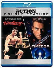 TIMECOP / BLOODSPORT (Jean Claude Van Damme)  -  Blu Ray - Sealed Region free