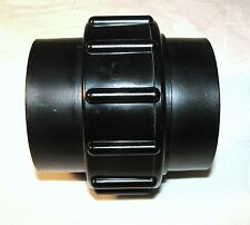 ABS BLACK PIPE SANITARY SEWER QUICK COUPLER 2 INCH NEW CAMPERS MOTOR MOBIL HOMES