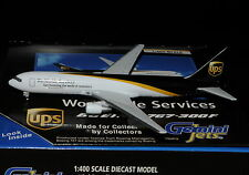 GEMINI Jets 1/400 b767-300 United parcels Services UPS + Chrome Stand