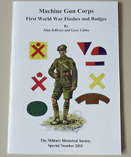 WW1 Machine Gun Corps MGC Flashes, Cap Badges & Shoulder Titles Reference Book