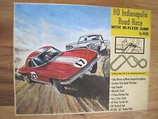 1960's Indianapolis Road Race Set W/ Toy Slot Cars by MARX