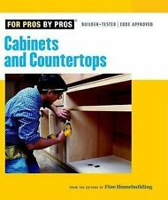 Cabinets and Countertops (For Pros By Pros), , Good Condition, Book