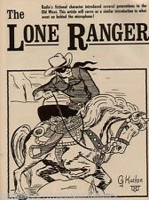 The Lone Ranger - Hard To Find Radio & Movie History+Beemer,Bell,Kueker,Moore