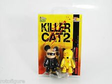 Toy2R Qee kill bill killer cats danny chan ultraman keychain new in package