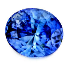 Certified Natural 1.07ct Fabulous Ceylon Cornflower Blue Sapphire, Oval Cut