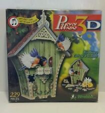Puzz 3D Birdhouse omits sounds NEW 3D Puzzle MB RARE!!!NIB