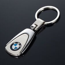 Gift Keyring Trapezoid Car Logo Metal Alloy KeyChain Key Ring Decoration For BMW