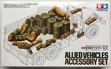 Tamiya 35229 Allied Vehicles Accessory Set 1/35 Model Kit NIB
