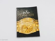 Rolex Collectible 1991 Rolex Oyster Catalog w/ 16520A, 16700, & Oysterquartz!