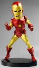 "NECA MARVEL CLASSIC BOBBLE HEAD KNOCKER - 8"" IRON MAN EXTREME HEADKNOCKER FIGURE"