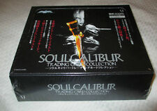 SEALED BOX NAMCO LIMITED SOUL CALIBUR TRADING CARD COLLECTION JAPANESE IMPORT