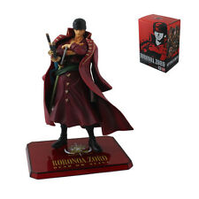 Cool ! One Piece ZORO With Red Suit 14cm PVC Figure Brand New In Box