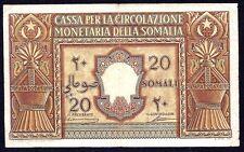 Italian Somaliland  20  Somali 1950  P-14