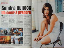 SANDRA BULLOCK Coupure de presse 2 pages 1999 - French clippings