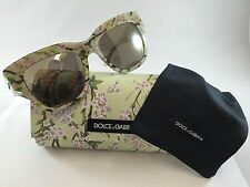 New Dolce & Gabbana Sunglasses Women DG 4231 Multi-Color 2843/6G Almond Flowers