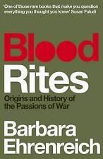 Blood Rites by Barbara Ehrenreich BRAND NEW BOOK (Paperback, 2011)