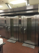 Hobart Natural Gas HSROG-18 Single Rack Bakery Roll In Oven w/ Cart