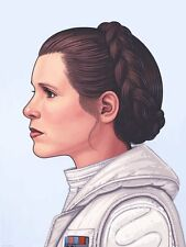 Mike Mitchell Star Wars Portrait Series - Princess Leia - Mondo Print Poster