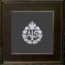 Service territorial auxiliaire cap badge Cross Stitch Kit