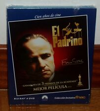 THE GODFATHER-EL PADRINO-COMBO BLU-RAY+DVD-NUEVO-PRECINTADO-THRILLER-ACCION-NEW