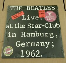 SEALED BEATLES VINYL LIVE AT THE STAR CLUB IN HAMBURG GERMANY 1962