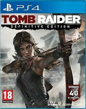 TOMB RAIDER DEFINITIVE EDITION PS4 Game (BRAND NEW SEALED) INDIAN MRP STOCK