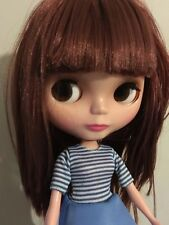 �� Blythe Basaak Doll Really Pretty With Brown Hair. U.K. Seller