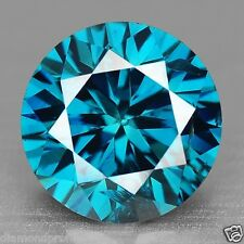 0.51 Cts EXCELLENT SPARKLING ROYAL BLUE COLOR NATURAL LOOSE DIAMONDS- SI1