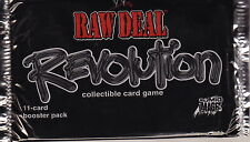 WWE RAW DEAL CCG - Revolution Cards Booster Packs (29) by Comic Images #NEW
