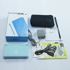 Brand New Light Ice Blue Nintendo DS Lite HandHeld Console System with gifts