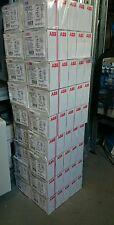 10x ABB FI/LS Schutzschalter DS201A-B16/0,03 1+N 16A 230V 30mA