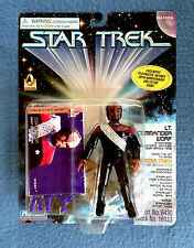 LT. COMMANDER WORF STAR TREK DEEP SPACE NINE PLAYMATES 5 INCH FIGURE