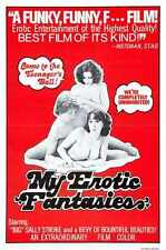 My Erotic Fantasies 1976 PostEr 01 A2 Box Canvas Print