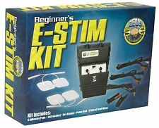 NEW Zeus Electrosex Beginner's E-Stim Kit Electro Battery Powered Massage Set